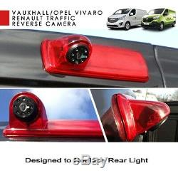 10.9cm Panneau Écran Moniteur Frein Léger Camera pour Opel Vivaro Renault Trafic