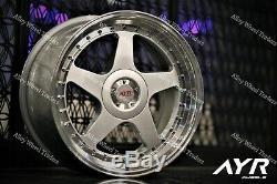 18 Argent 04 Roues Alliage Pour 2014 Mk2 Opel Vivaro Camping-Car 5x114