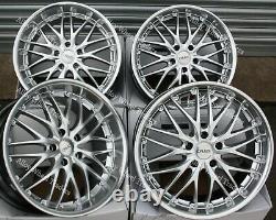 18 Argent 190 Roues Alliage Pour Opel Vivaro 5x118 2014 Fiat Ducato Wr