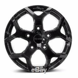 18 Noir Cobra Roues Alliage Pour Opel Vivaro 5x118 2014 Fiat Ducato