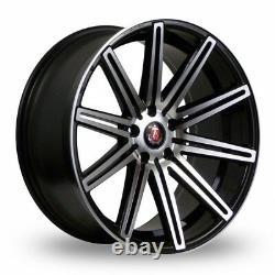 18 Noir P AXE EX15 Roues Alliage Pour Opel Vivaro 5x118 2014 Fiat Ducato