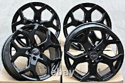 18 Roues Alliage FOX Viper 4 Noir Pour Renault Trafic Opel Vivaro 2014