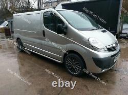19 River R10 Roues Alliage Pour 2014 Mk2 Opel Vivaro Camping-Car 5x114