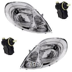 2 feux optique phare + moteur chrome clear Primastar Vivaro Trafic 2