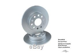 2x BOSCH DISQUE DE FREIN compatible An OPEL arrière VIVARO / OEM 986479144