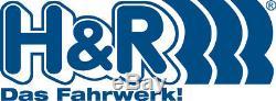 2x H&R Ressorts de rabaissement arrière pour Primastar Vivaro Trafic 30mm Aus