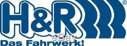 2x H&r Ressorts de Rabaissement VA Pour Primastar Vivaro Trafic 40mm + Dämmringe