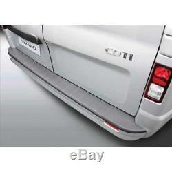 ABS Seuil de Chargement pour Opel Vivaro / pour Renault Trafic 10/2014- Noir