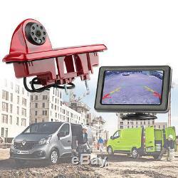 Ampire Caméra de recul écran Kit Opel Vivaro Renault Trafic Nissan NV300
