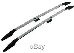 Barres De Toit Rails De Toit Aluminium Renault Trafic Opel Vivaro Court De 2001