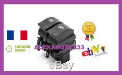Bouton Leve Vitre Renault 8200315034 Clio 2 Espace 4 Megane 2 Laguna 2 Scenic 2