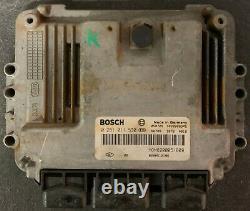 Calculateur RENAULT TRAFIC OPEL VIVARO 1.9 0281011530 HOM8200051609 8200512196