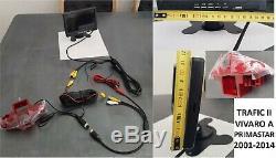 Caméra de recul écran moniteur Renault Trafic II Opel Vivaro A Nissan Primastar