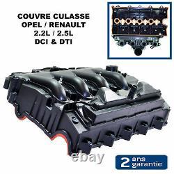 Collecteur d'Admission Couvre Culasse pour MOVANO VIVARO 2,2 2,5 DTI 2,2L 2,5L