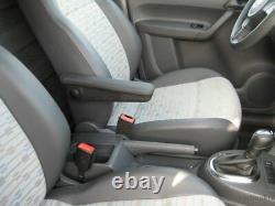 Comfort Accoudoir / Accoudoir Central Tissu Noir Opel Vivaro, Renault Trafic