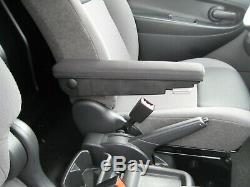 Comfort Accoudoir Tissu Anthracite Long Opel Vivaro, Renault Trafic II