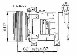 Compresseur climatisation Renault Megane 1 Scenic 1 Trafic 2 Master 2 Espace 3