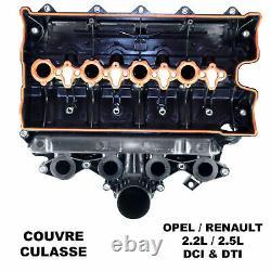 Couvercle Culasse Collecteur Admission Air MOVANO VIVARO 2,2 2,5 DTI 2,2L 2,5L