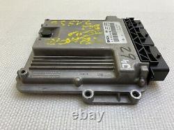 ECU Calculateur moteur RENAULT Trafic Opel Vivaro 2L Dci 0281019840 237101754R