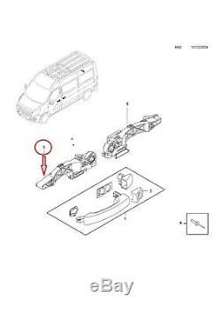 Fixation Support Poignee Porte Master 3 Vivaro Movano 806079208 806071150