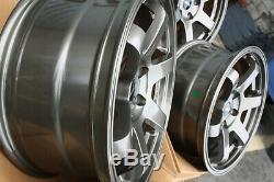 Jantes en Alliage X4 17 Gris St16 pour 2014 Only Opel Vivaro Trafic 5x114