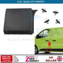 Moulure Côté Panneau Set Gauche Pour Vauxhall Opel Vivaro B MK2 Renault Trafic
