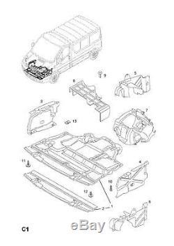 Neuf D'Origine Renault Undertray Protège Moteur M9R 2.0DCI Trafic Vivaro