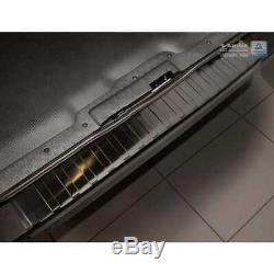 Noir Inox Protection Pare-Chocs pour Opel Vivaro & pour Renault Trafic 2014