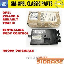 OPEL Vivaro A Renault Trafic ECU Body Control Neuf Originale 93855695
