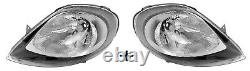 Opel Vivaro A (2001-) 2x Phare Feu Feux Avant Droit Gauche Électrique H4 Chrome