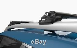 Opel Vivaro Renault Trafic 2001-2019 Noir Cross Barres Barres de Toit