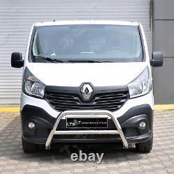 Opel Vivaro Renault Trafic Chrome Coup A-Bar, Pare-Buffle 2015-2019 W K