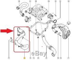 Opel Vivaro Renault Trafic Nissan Tuyau D'intercooler Turbo Durite 144602126r