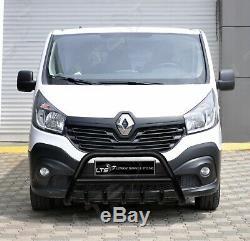 Opel Vivaro Renault Trafic Noir Essieu Coup A-Bar Pare-Buffle Garde 2015 Onward