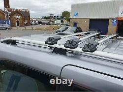 Opel Vivaro, Renault Trafic Toit Rail + 3XLOCKABLE Cross Barre Court WB15-19