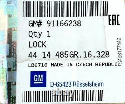 Original GM / Opel 91166238 Verrouillage Hayon Renault 8200008468 Trafic, Vivaro