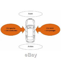 Pare-choc avant + AB gris Opel Vivaro 2006-2014