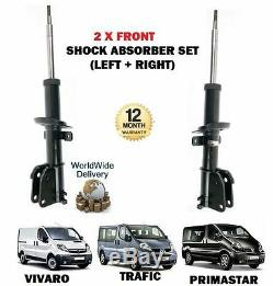 Pour Opel Vivaro Renault Trafic Nissan Primastar 2 x Jeu d'amortisseur Avant