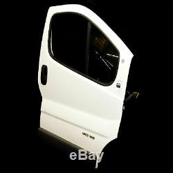 Renault Trafic 01-14 Opel Vivaro A Porte avant Droite Passager Blanc Casablanca