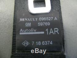 Renault Trafic 2 II Vivaro (Jl)2.0 Dci 115 la Sangle de Ceinture Sécurité