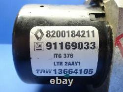 Renault Trafic 2 Opel Vivaro Bloc Hydraulique Abs 8200184211 91169033 13664105