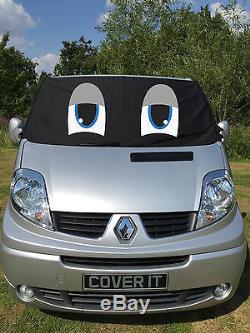 Renault Trafic Primastar Vivaro Van Fenêtre Protection Écran Pare-Brise Eyes