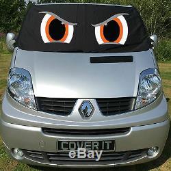 Renault Trafic Primastar Vivaro Van Vitre Protection Écran Pare-Brise Eyes