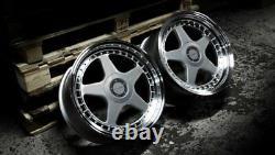 Roues Alliage X 4 17 Argent F5 Pour Opel Vivaro 5x118 2014 Crewcab