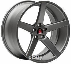 Roues Alliage X 4 18 Gunmetal EX18 Pour Opel Vivaro 5x118 2014 Fiat Ducato