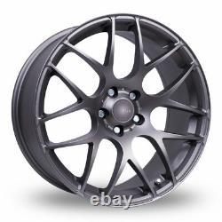 Roues Alliage X 4 19 GM Fox MS007 Pour Opel Vivaro 5x118 2014 Crewcab