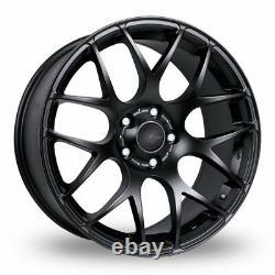 Roues Alliage X 4 19 Noir MS007 Pour Opel Vivaro 5x118 2014 Crewcab