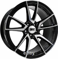 Roues Alliage X 4 19 Noir P Dla Pour Opel Vivaro 5x118 2014 Nissan