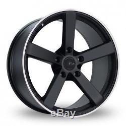 Roues Alliage X 4 20 Noir Ms003 pour Opel Vivaro 5x118 2014 Nissan Primastar