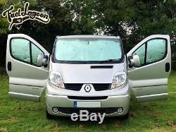 Thermique Store 3 Set Camping-Car Convient pour Vivaro Opel Renault Trafic